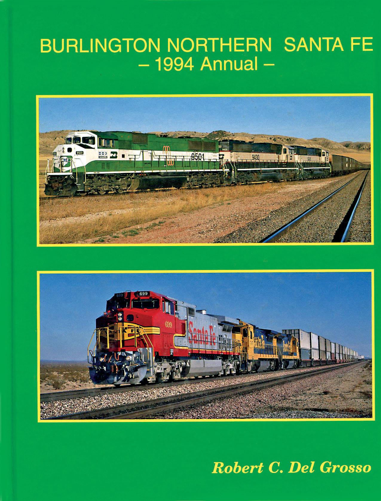 BNSF 1994 Motive Power Annual