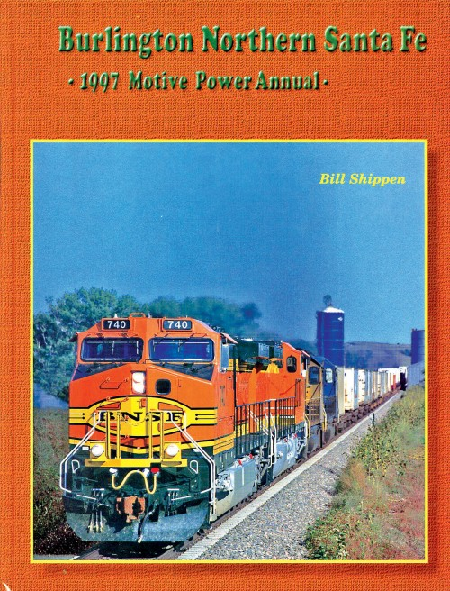 BNSF 1997 Motive Power Annual