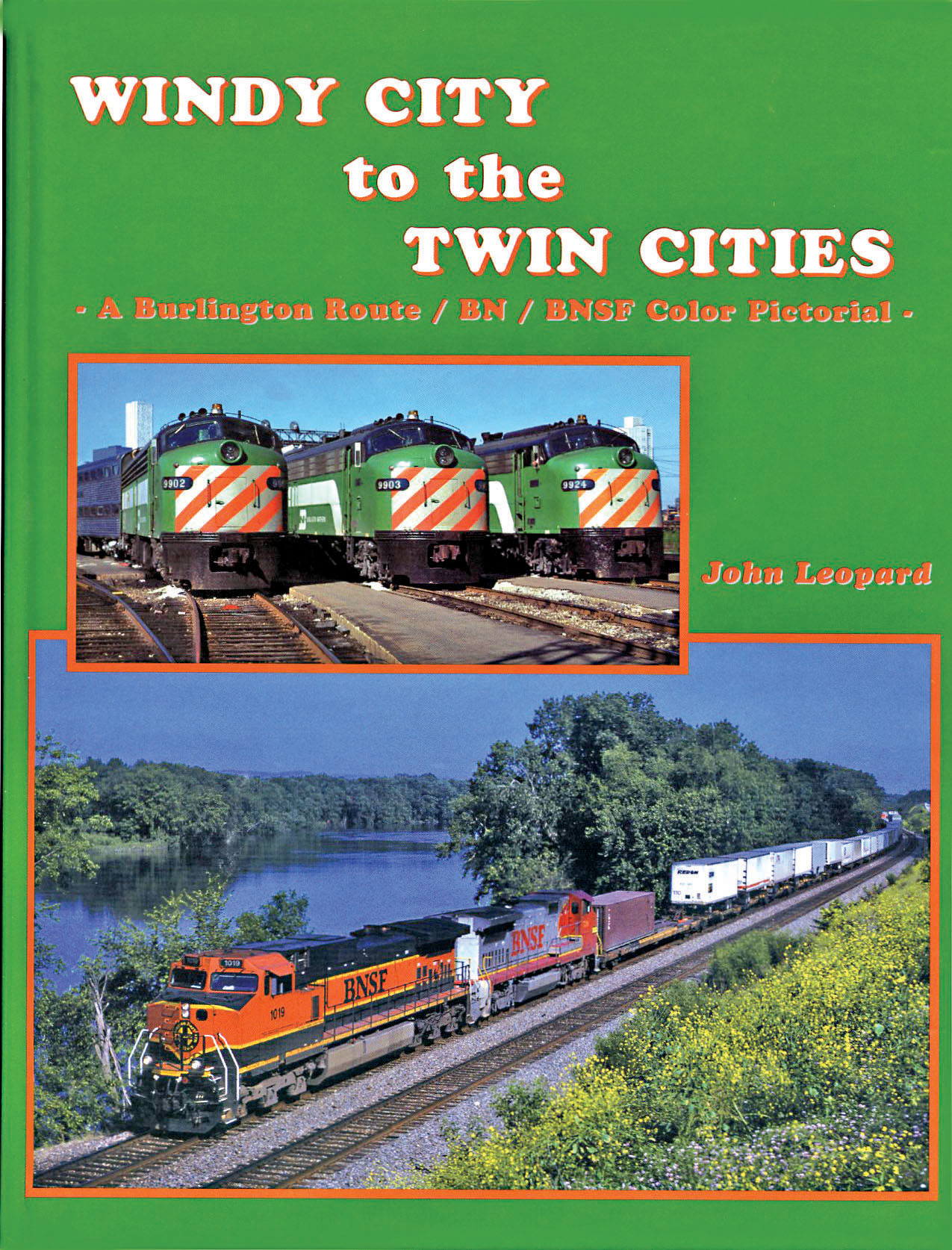 BNSF Windy City to the Twon Cities