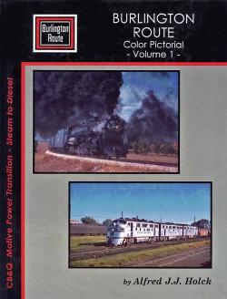 Burlington Route Color Pict. Vol. 1