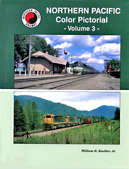 Northern Pacific Color Pictorial-Volume Three